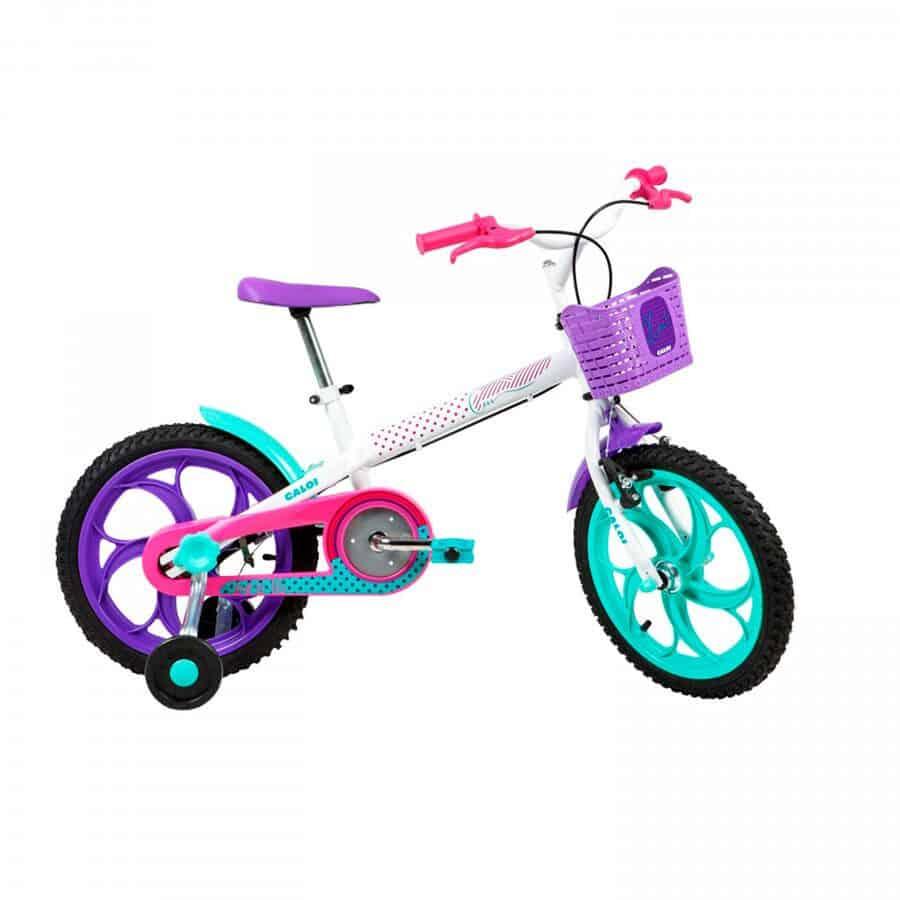 bicicleta caloi ceci aro 16 freios cantilever feminina infantil img