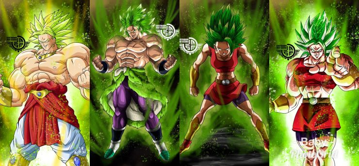 Broly,Super Broly,Dragon Ball Super,Saiyajin