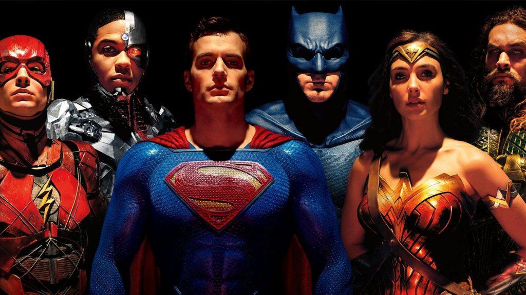 Imagem promocional do filme Liga da Justiça